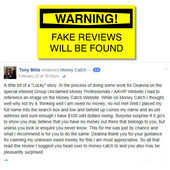 Money Catch Buying Fake Reviews