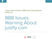 justfly complaints reviews information